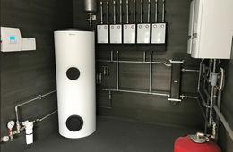 Монтаж системы отопления в частном доме Звенигород