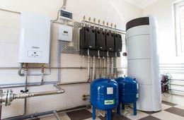 Монтаж системы отопления в коттедже Звенигород