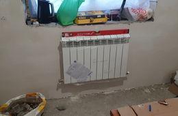 Монтаж радиатора отопления в частном доме Звенигород