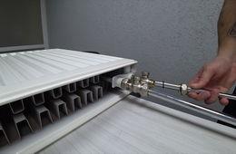 Монтаж радиаторов отопления с нижней подводкой Звенигород