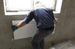 Монтаж стальных радиаторных панелей Звенигород