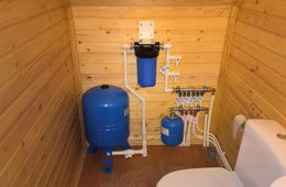 Монтаж водоснабжения в частном доме Звенигород