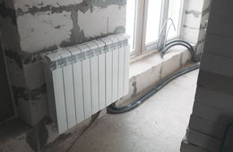 Замена радиаторов отопления в квартире Звенигород